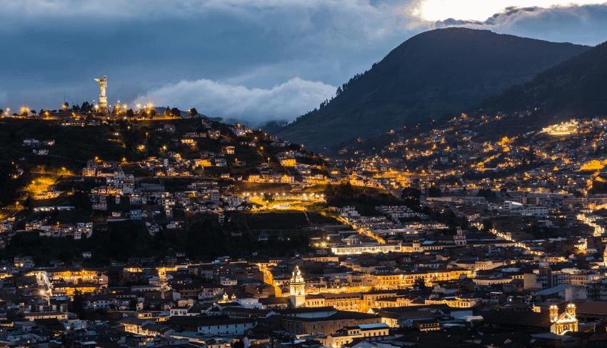 Casco historico Quito