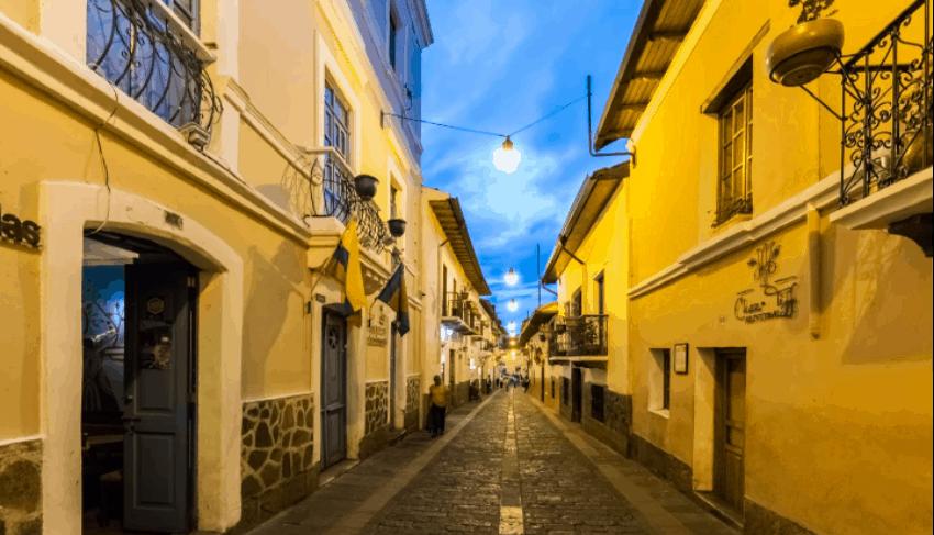 Calle Ronda Quito